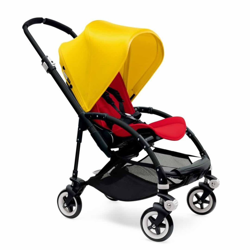 Bugaboo Bee3 Pushchair Black, Bright Yellow & Red