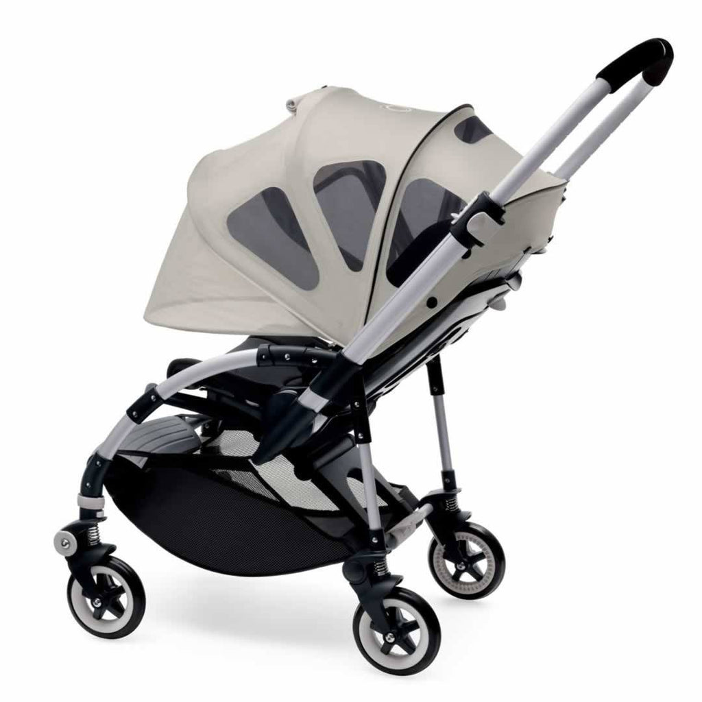Bugaboo Bee5 Breezy Sun Canopy - Arctic Grey - Sun Covers - Natural Baby Shower