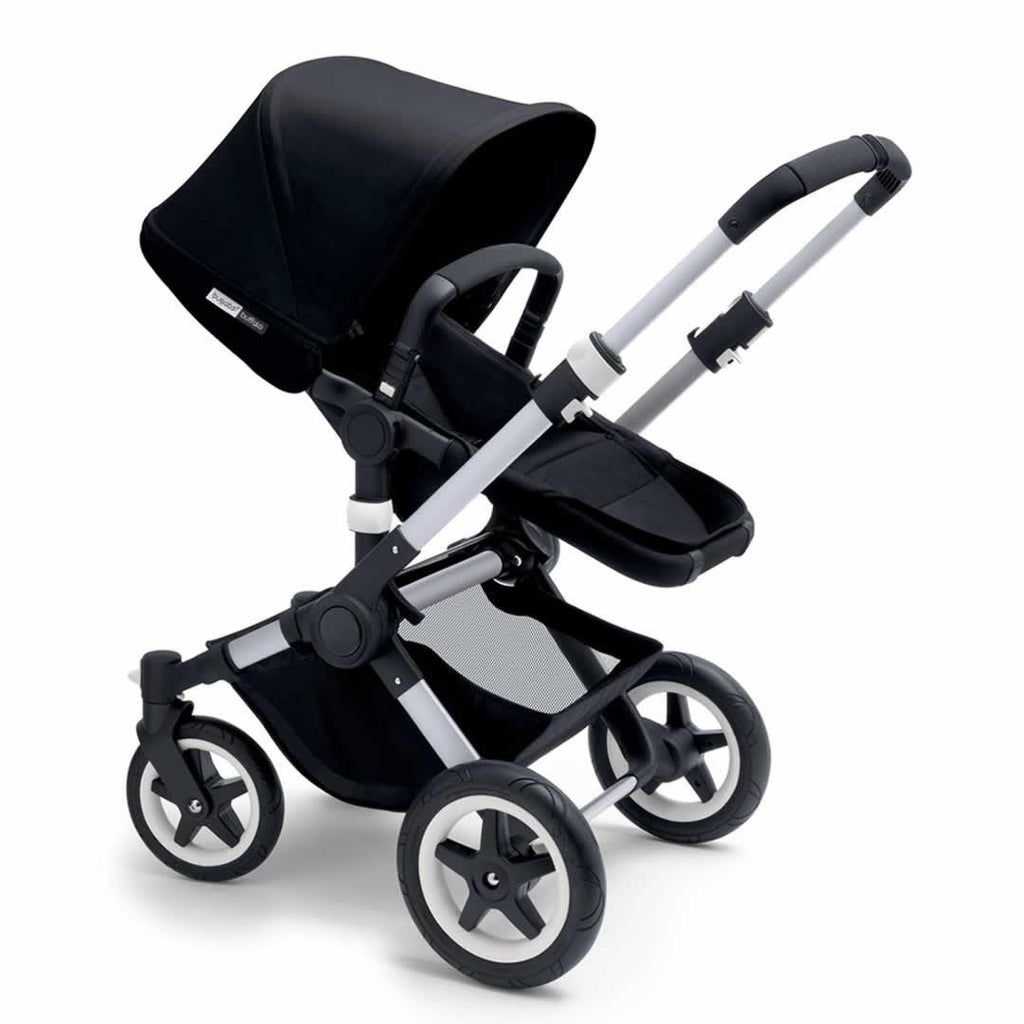 Bugaboo Buffalo Pushchair - Black with Aluminium