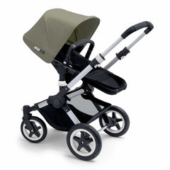 Bugaboo Buffalo Pushchair in Dark Khaki with Aluminium