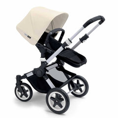 Bugaboo Buffalo Pushchair in Off White with Aluminium