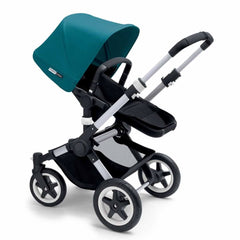 Bugaboo Buffalo Pushchair in Petrol Blue with Aluminium