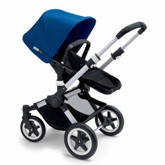 Bugaboo Buffalo Pushchair in Royal Blue with Aluminium