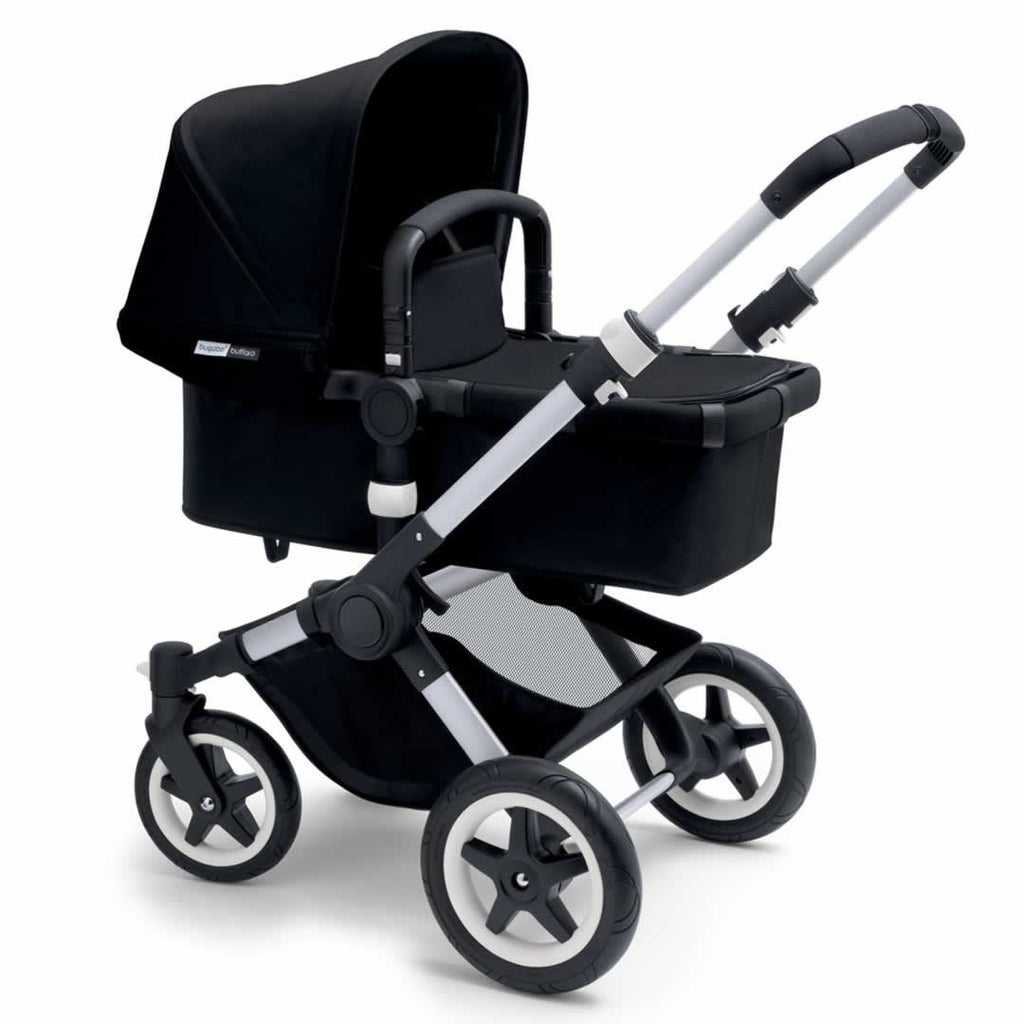 Bugaboo Buffalo Pushchair Black with Aluminium
