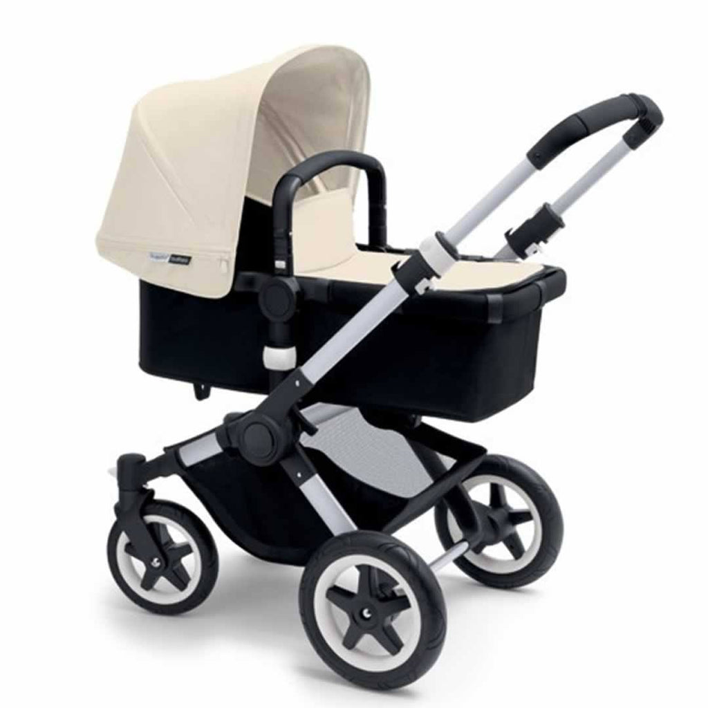 Bugaboo Buffalo Pushchair Off White with Aluminium