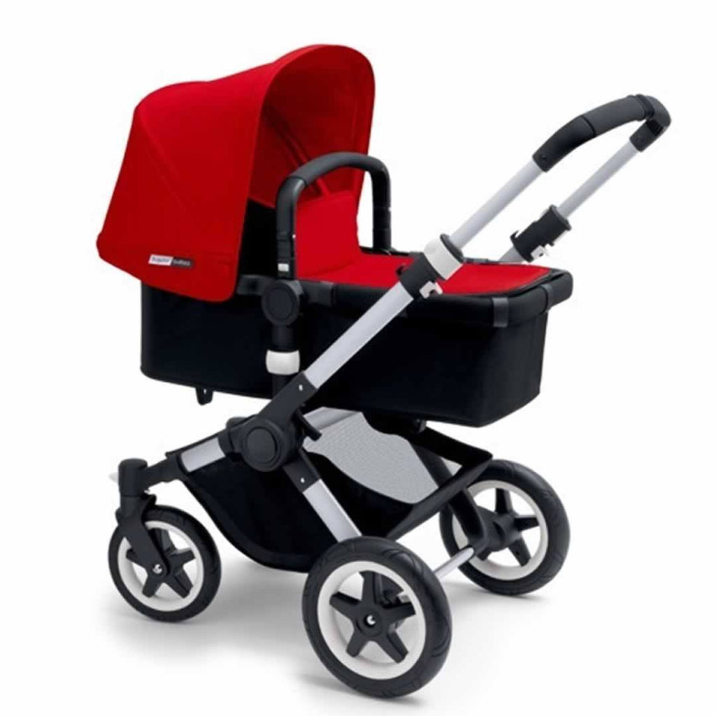 Bugaboo Buffalo Pushchair Red with Aluminium