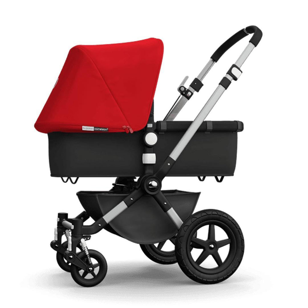 Bugaboo Cameleon3 Carrycot Aluminium + Dark Grey + Red