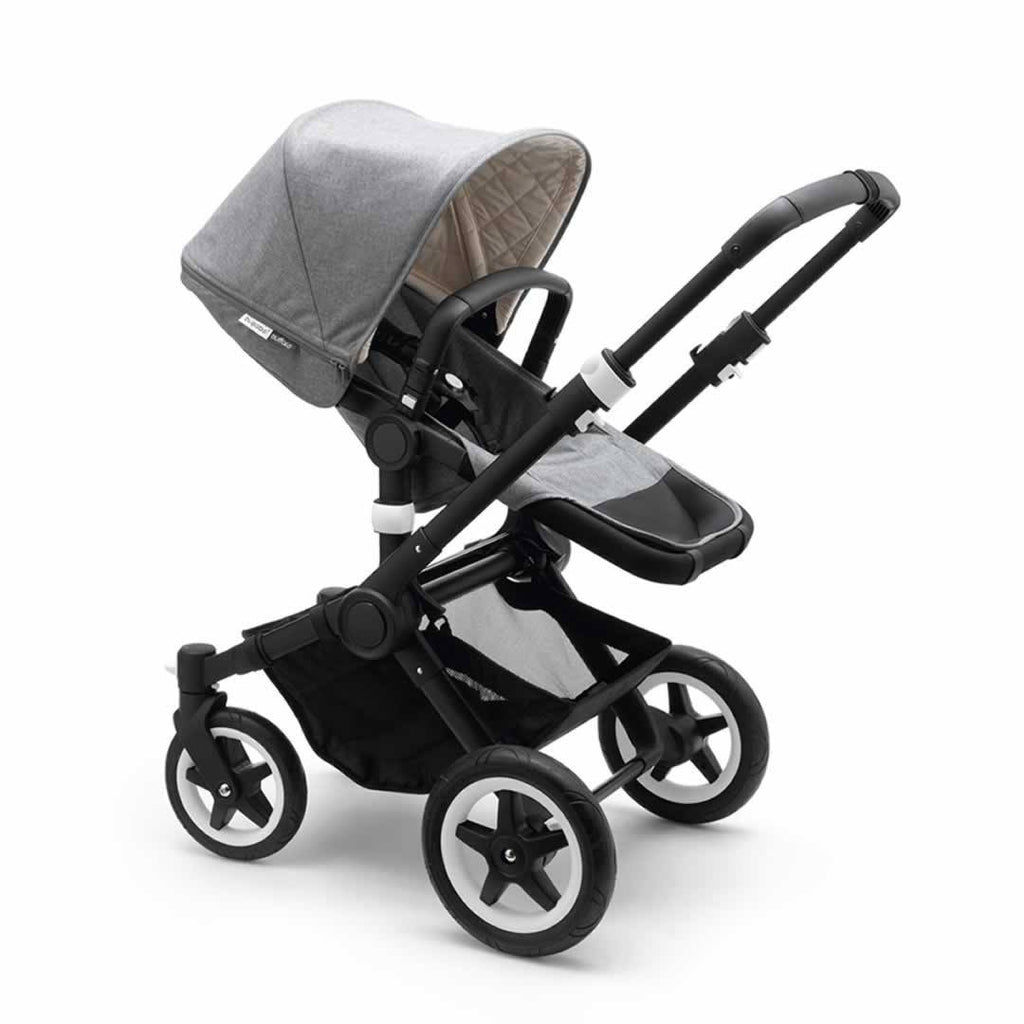 Bugaboo Buffalo Classic+ Pushchair - Grey Melange - Strollers - Natural Baby Shower