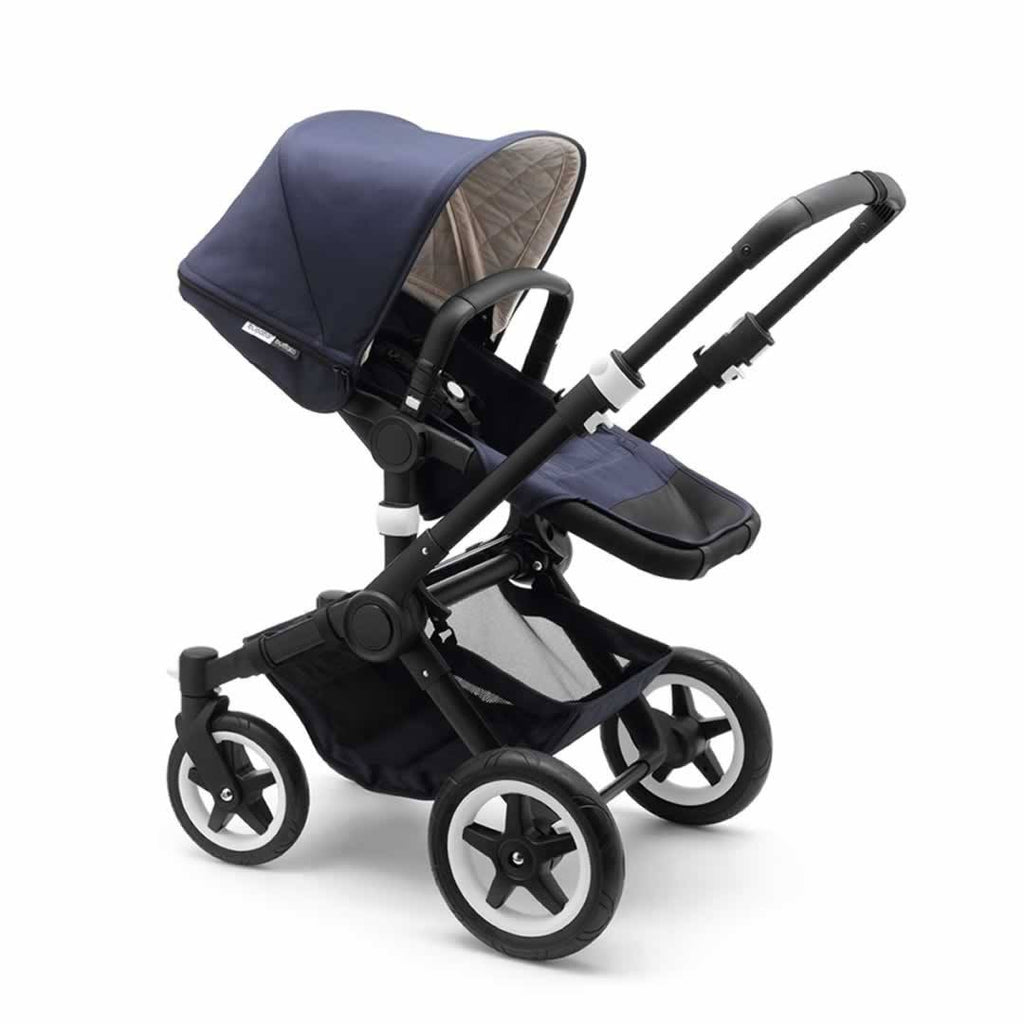 Bugaboo Buffalo Classic+ Pushchair - Navy Seat Side