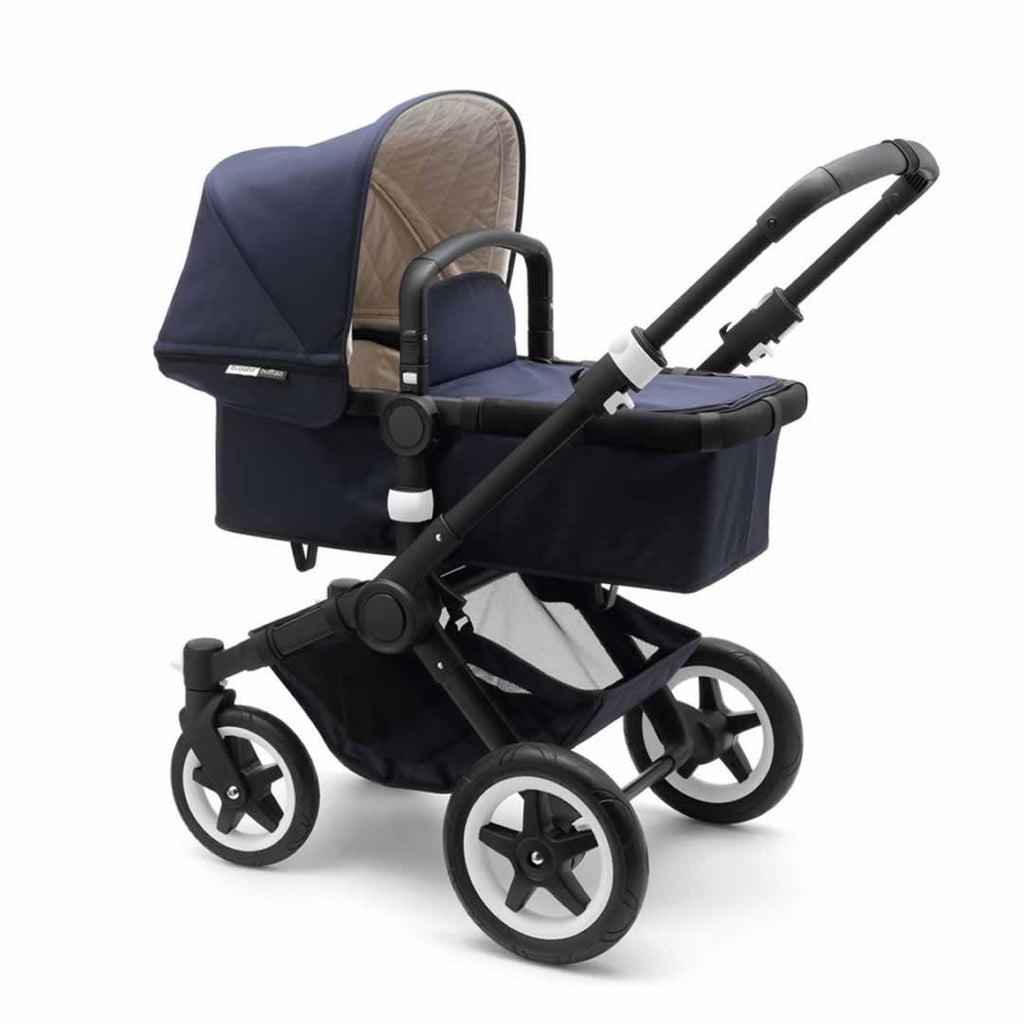 Bugaboo Buffalo Classic+ Pushchair - Navy Carrycot