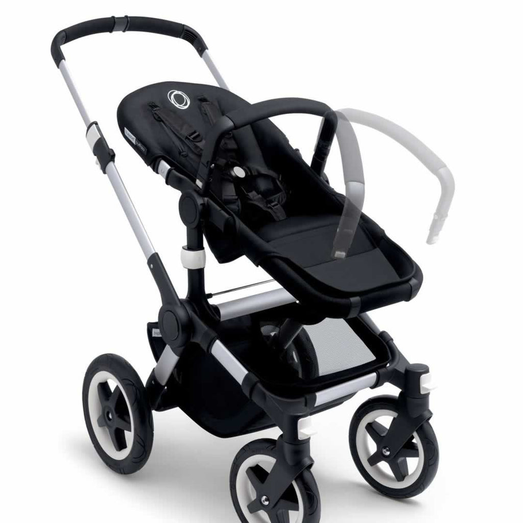 Bugaboo Buffalo Pushchair in Off White with Black Handle Bar