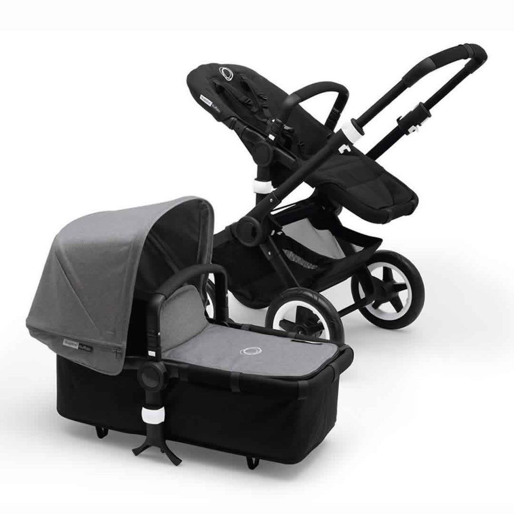 Bugaboo Buffalo Pushchair in Black with Grey Melange