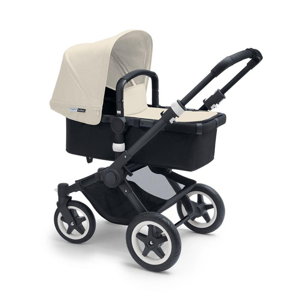 Bugaboo Buffalo+ Pushchair in Off White with Black