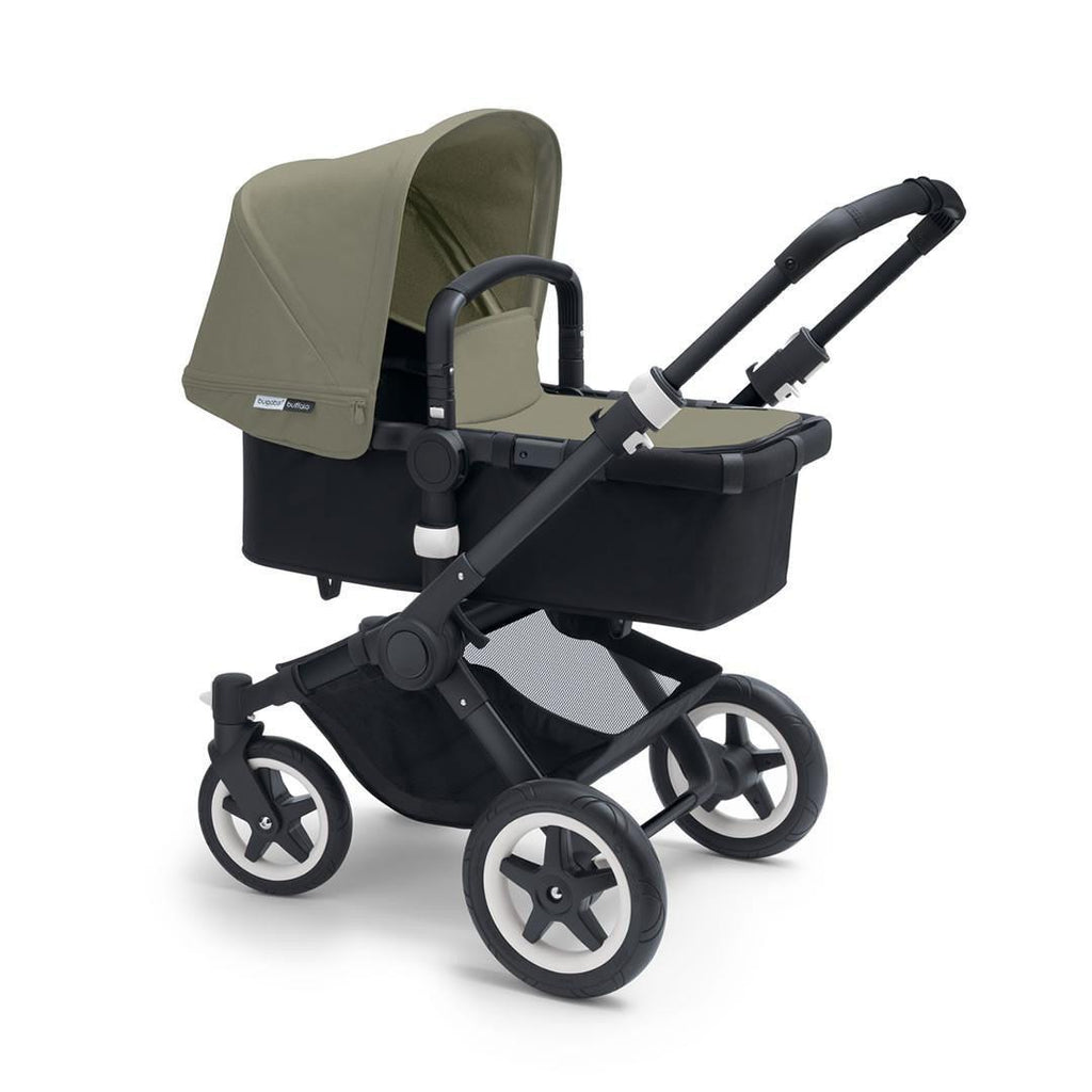Bugaboo Buffalo+ Pushchair in Dark Khaki with Black