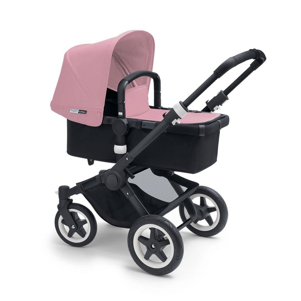 Bugaboo Buffalo+ Pushchair in Soft Pink with Black