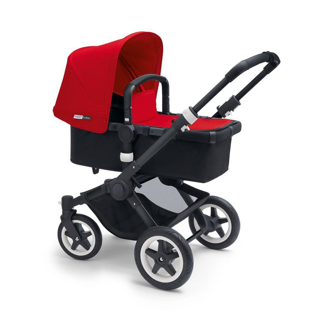 Bugaboo Buffalo+ Pushchair in Red with Black