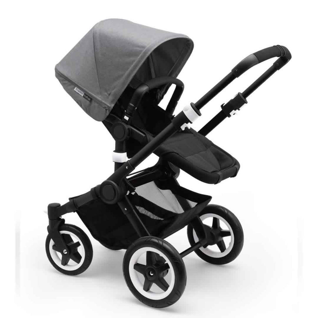 Bugaboo Buffalo Pushchair Black with Grey Melange
