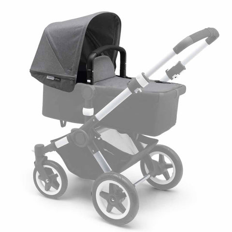 Bugaboo Buffalo Tailored Fabric Set - Grey Melange - Colour Packs - Natural Baby Shower