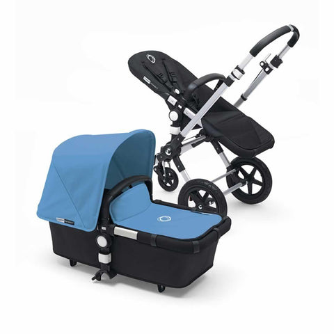 Bugaboo Cameleon3 in Aluminium + Black + Ice Blue
