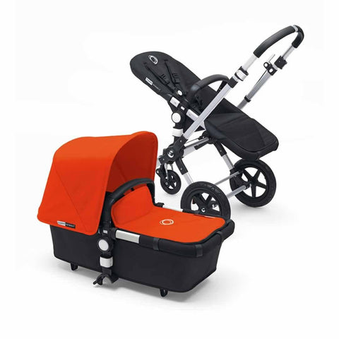 Bugaboo Cameleon3 in Aluminium + Black + Orange