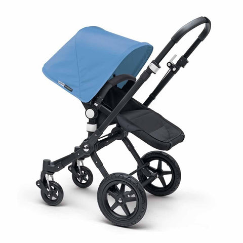 Bugaboo Cameleon3+ Pushchair - Black + Black Ice Blue