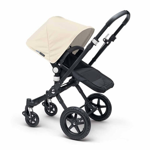 Bugaboo Cameleon3+ Pushchair - Black + Black Off White