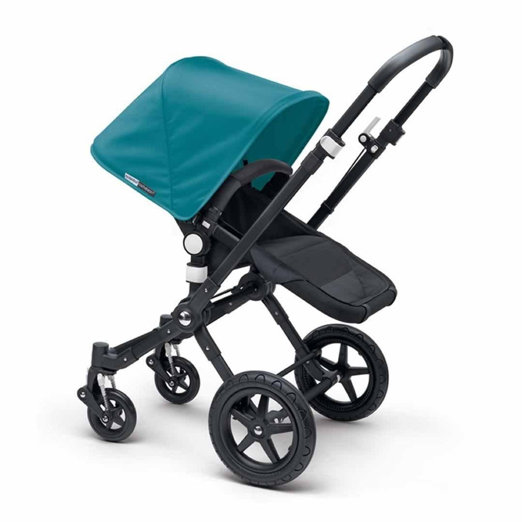 Bugaboo Cameleon3+ Pushchair - Black + Black Petrol Blue
