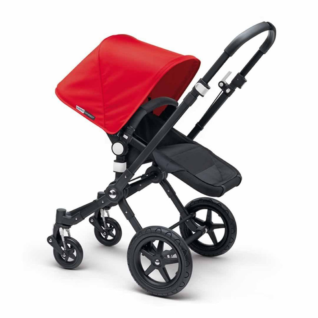 Bugaboo Cameleon3+ Pushchair - Black + Black Red