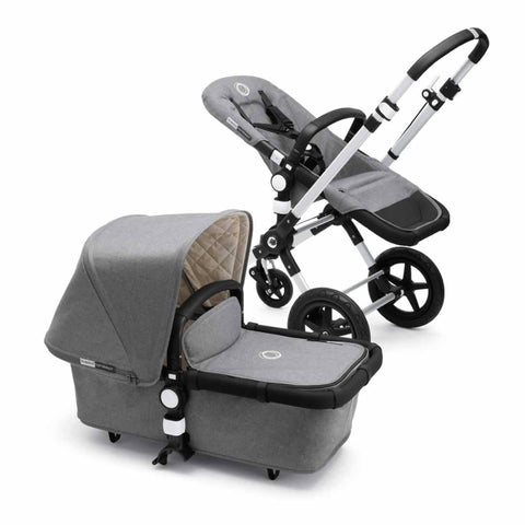 Bugaboo Cameleon3 Pushchair - Classic+ Grey Melange - Strollers - Natural Baby Shower