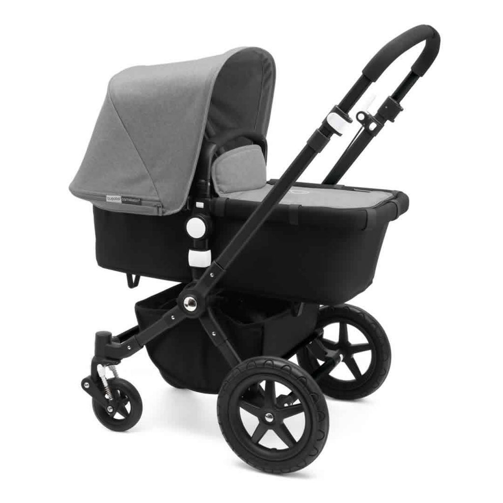 Bugaboo Cameleon3 Pushchair Black + Black Grey Melange