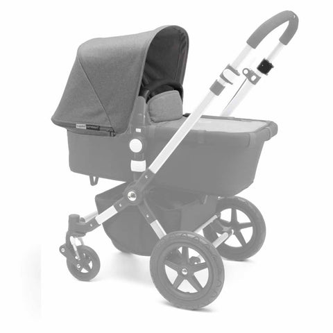 Bugaboo Cameleon3 Tailored Fabric Set - Grey Melange - Colour Packs - Natural Baby Shower