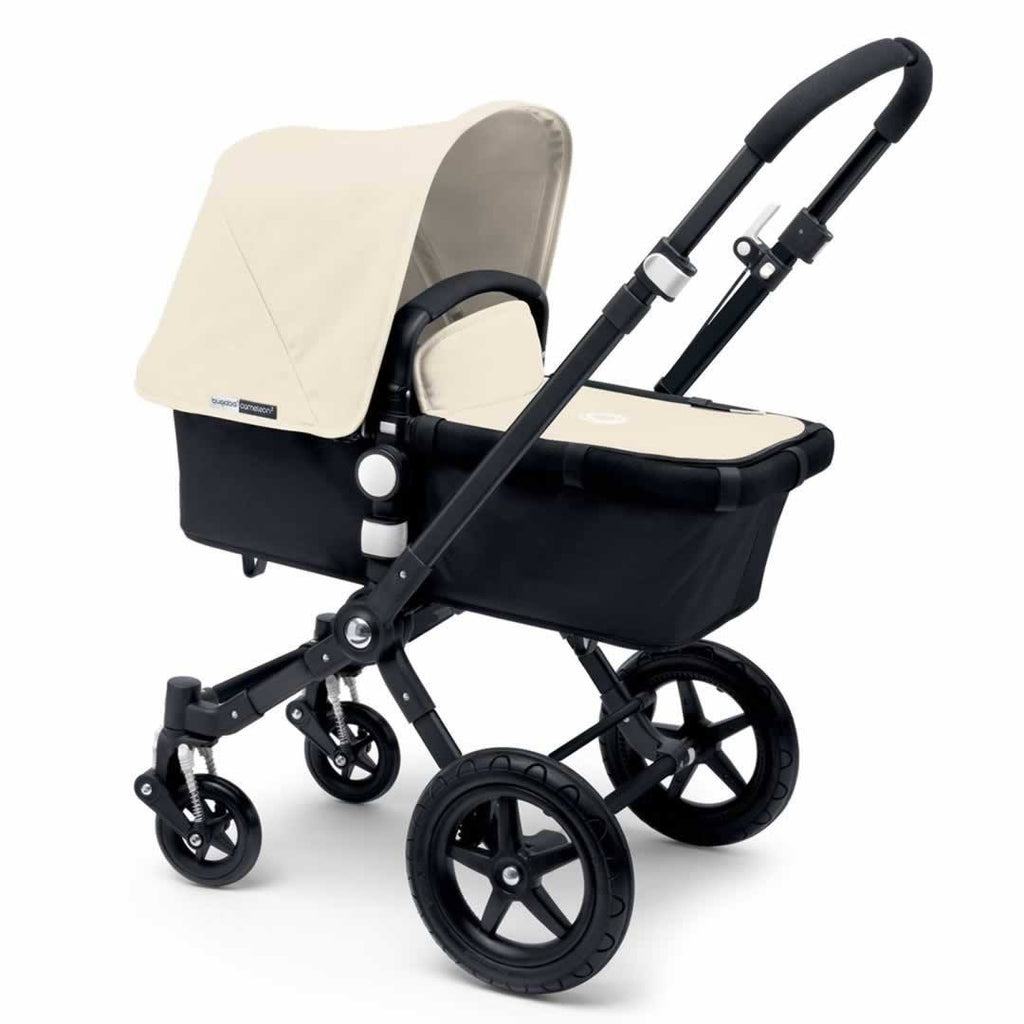 Bugaboo Cameleon3 Carrycot Black + Black + Off White