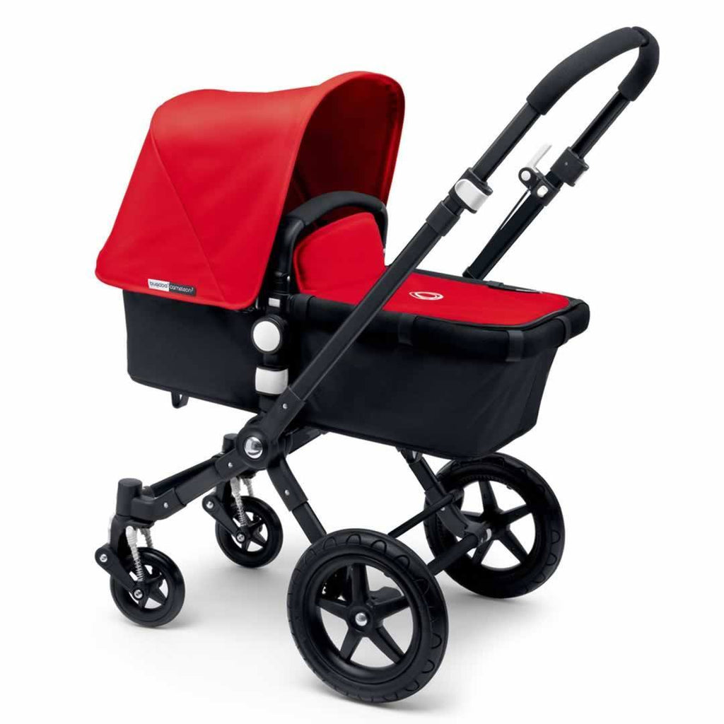 Bugaboo Cameleon3 Carrycot Black + Black + Red