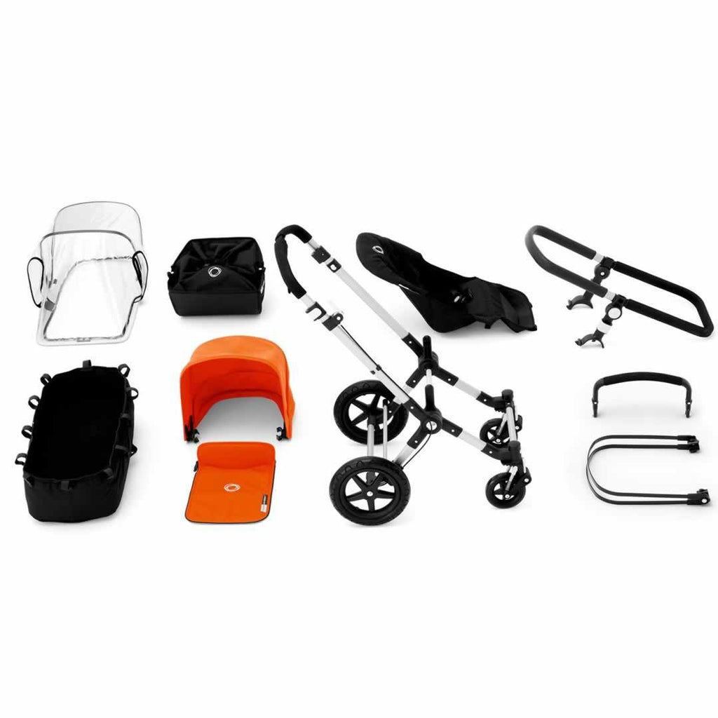 Bugaboo Cameleon3 Black + Black + Off White What you Get