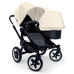 Bugaboo Donkey+ Duo Pushchair in Black with Off White