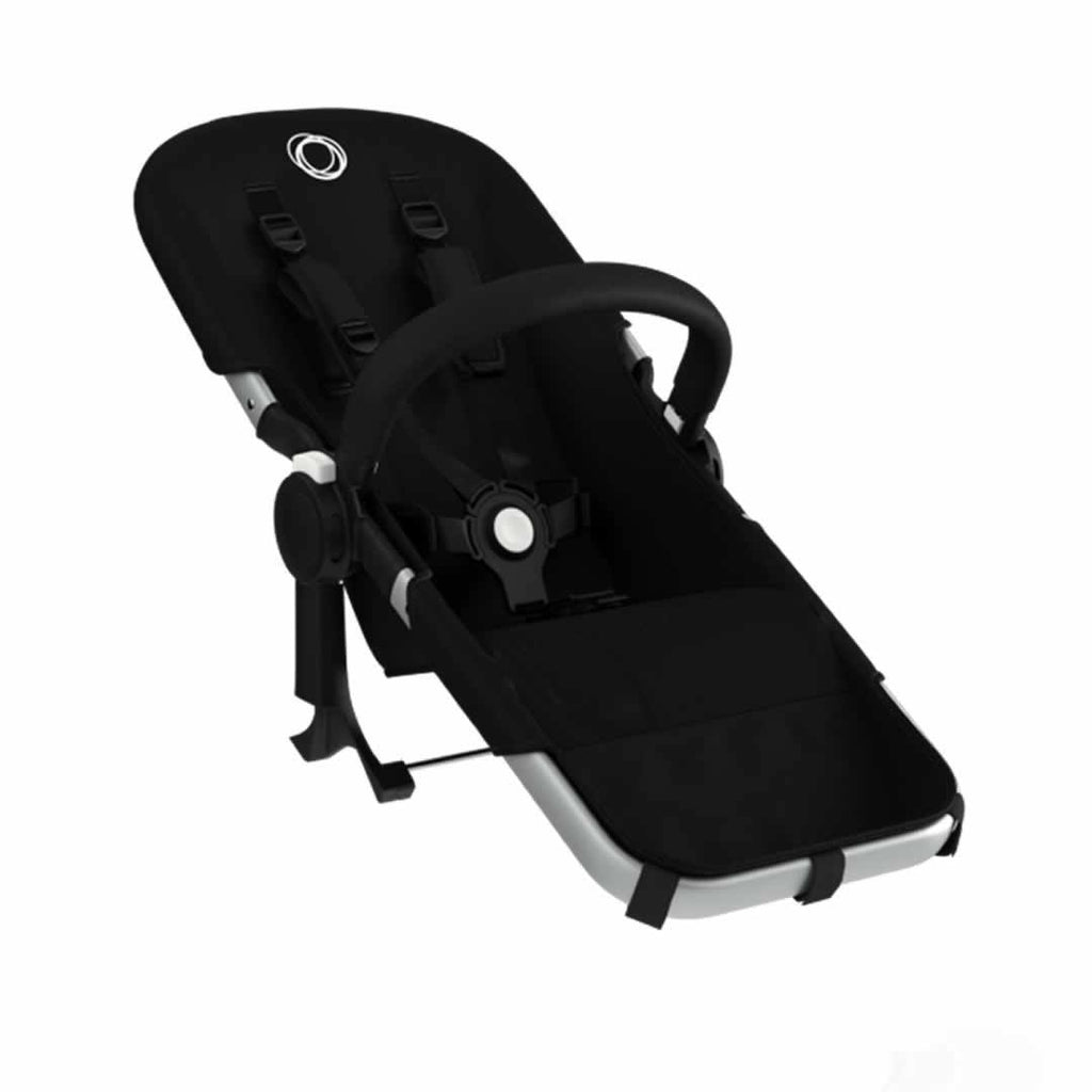 Bugaboo Donkey Duo  Extension Set Black & Aluminium