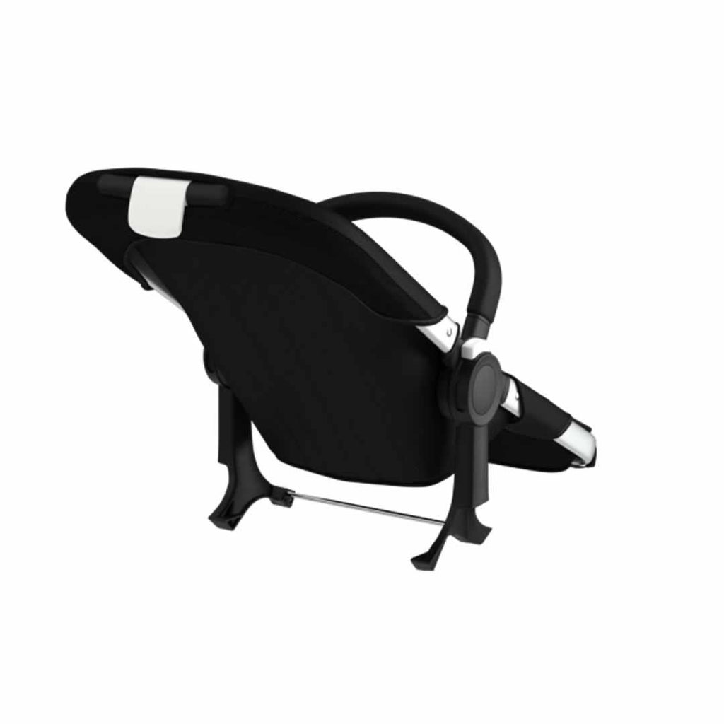 Bugaboo Donkey Duo  Extension Set Black & Aluminium Back