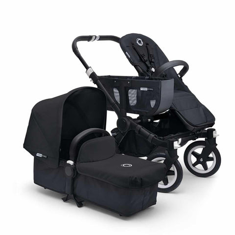 Bugaboo Donkey+ Mono Pushchair - Black with Black - Strollers - Natural Baby Shower