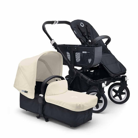Bugaboo Donkey+ Mono Pushchair in Off White with Black