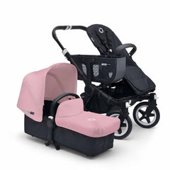 Bugaboo Donkey+ Mono Pushchair in Soft Pink with Black