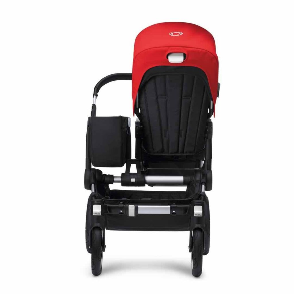 Bugaboo Donkey+ Mono Pushchair - Black with Grey Melange Basket