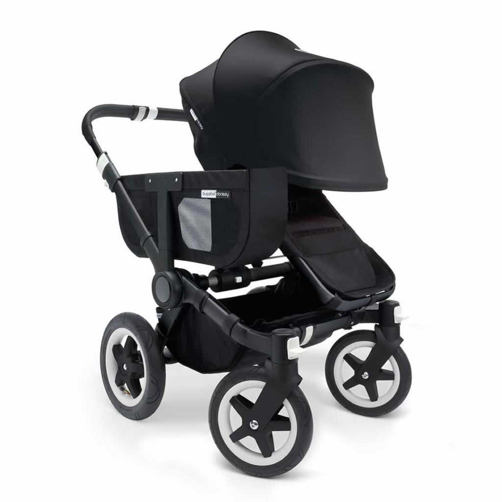 Bugaboo Donkey+ Mono Pushchair - Black with Black Front