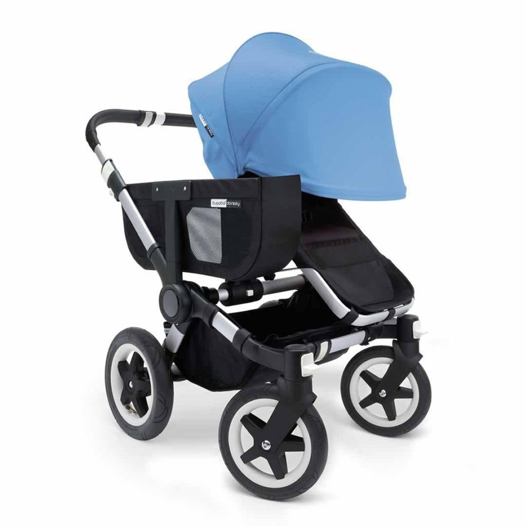 Bugaboo Donkey+ Mono Pushchair - Ice Blue with Aluminium Front