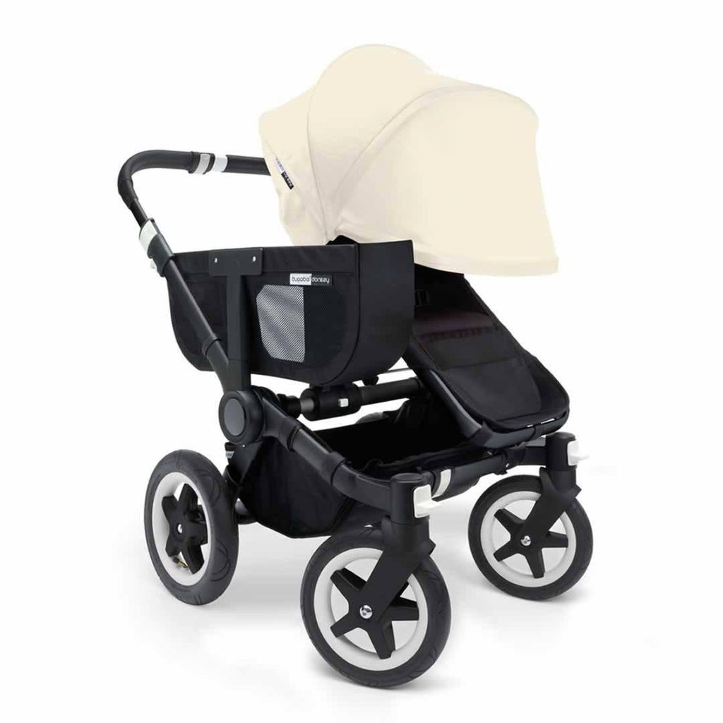 Bugaboo Donkey+ Mono Pushchair - Off White with Black Front