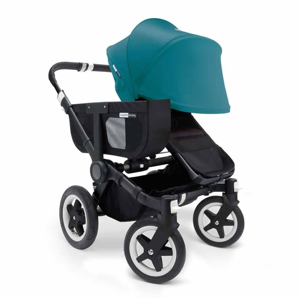 Bugaboo Donkey+ Mono Pushchair - Petrol Blue with Black Front