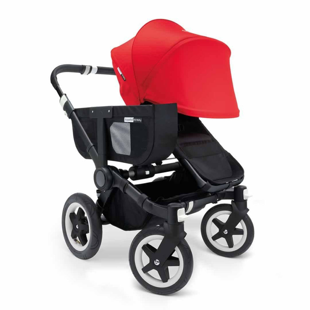 Bugaboo Donkey+ Mono Pushchair - Red with Black Front