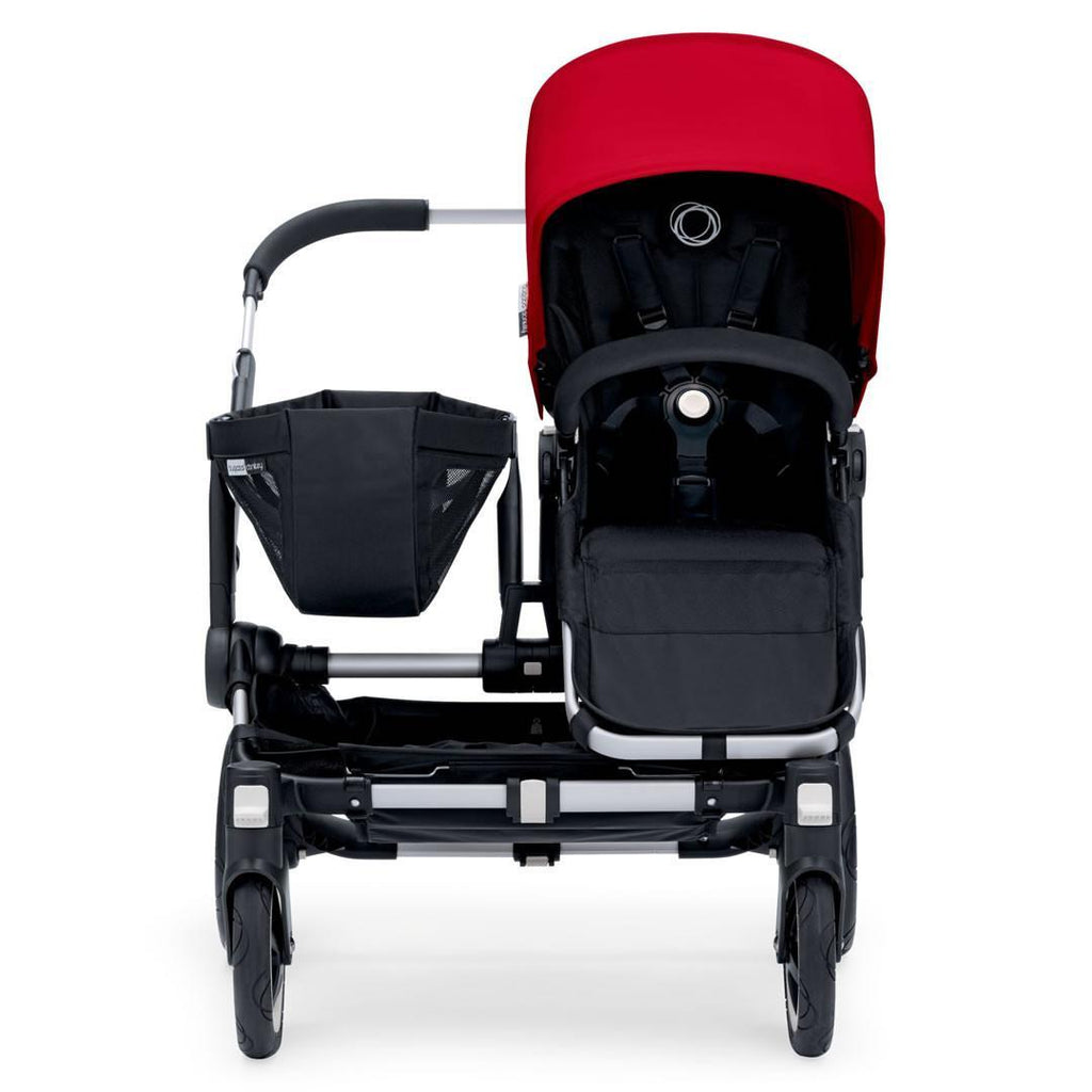 Bugaboo Donkey+ Mono Pushchair Red with Aluminium Extended