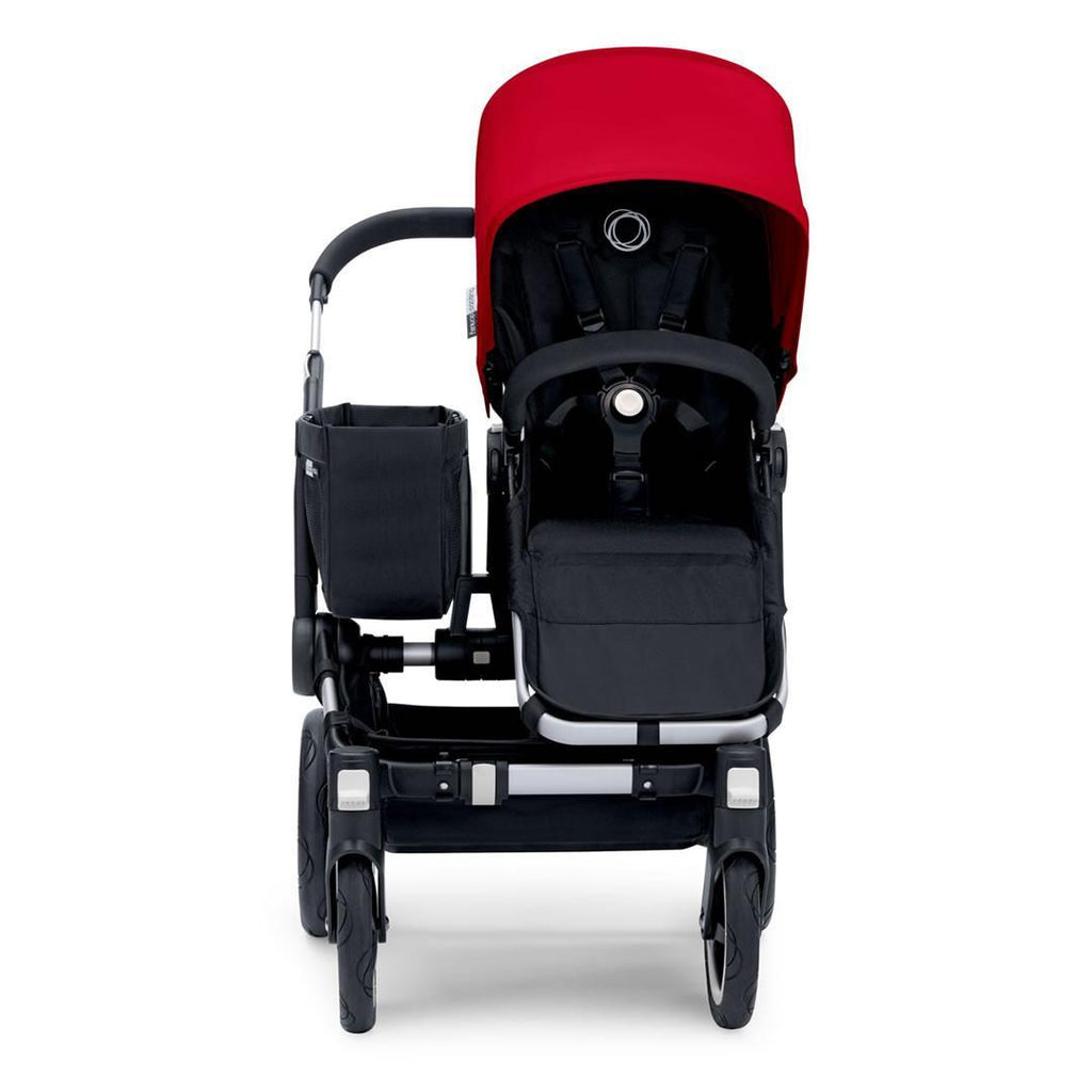 Bugaboo Donkey+ Mono Pushchair Aluminium with Grey Melange Front