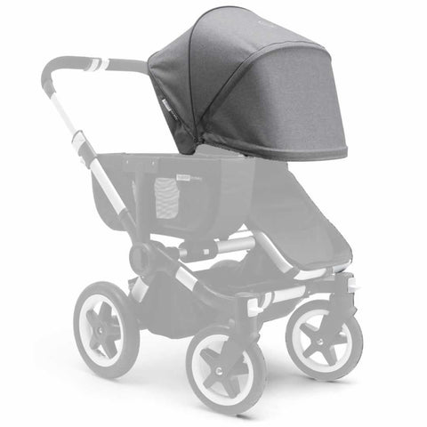 Bugaboo Donkey Sun Canopy - Grey Melange - Sun Covers - Natural Baby Shower