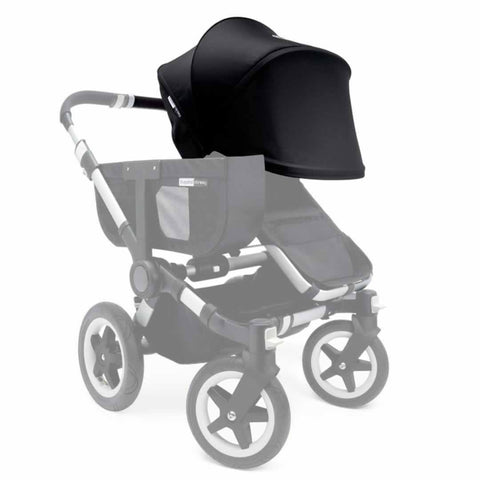 Bugaboo Donkey Sun Canopy - Black - Sun Covers - Natural Baby Shower